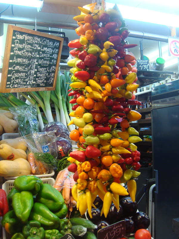 Mercat de la Boqueria — цены в Барселоне Испания