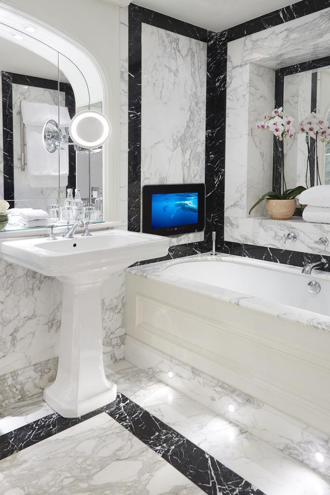 Ванная комната в одном из номеров The Goring Hotel