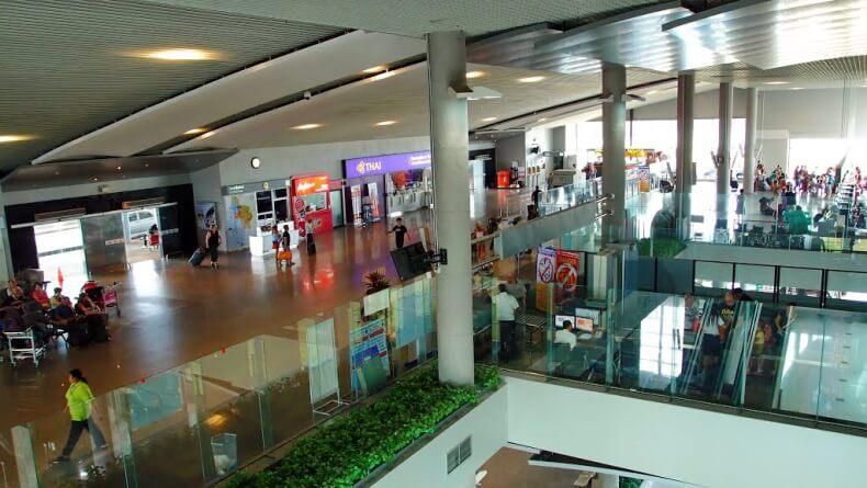 Действия после прилета в аэропорт Краби
