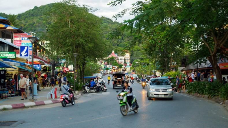 Ао Нанг – курортный город в провинции Краби