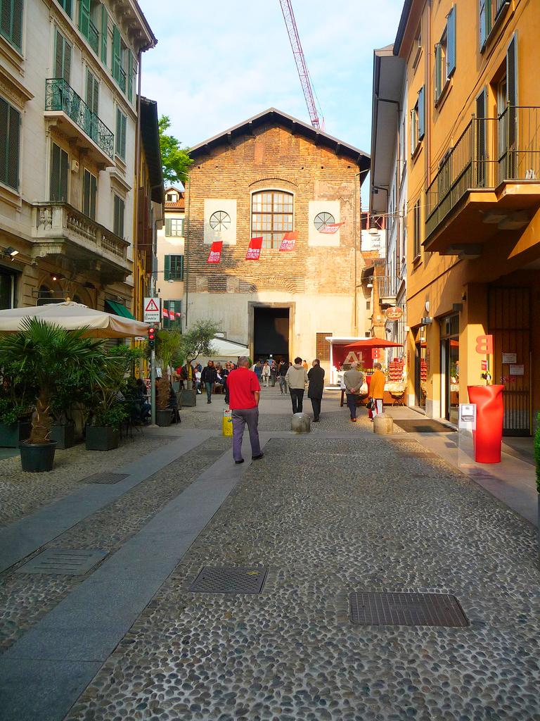 Район Brera в Милане