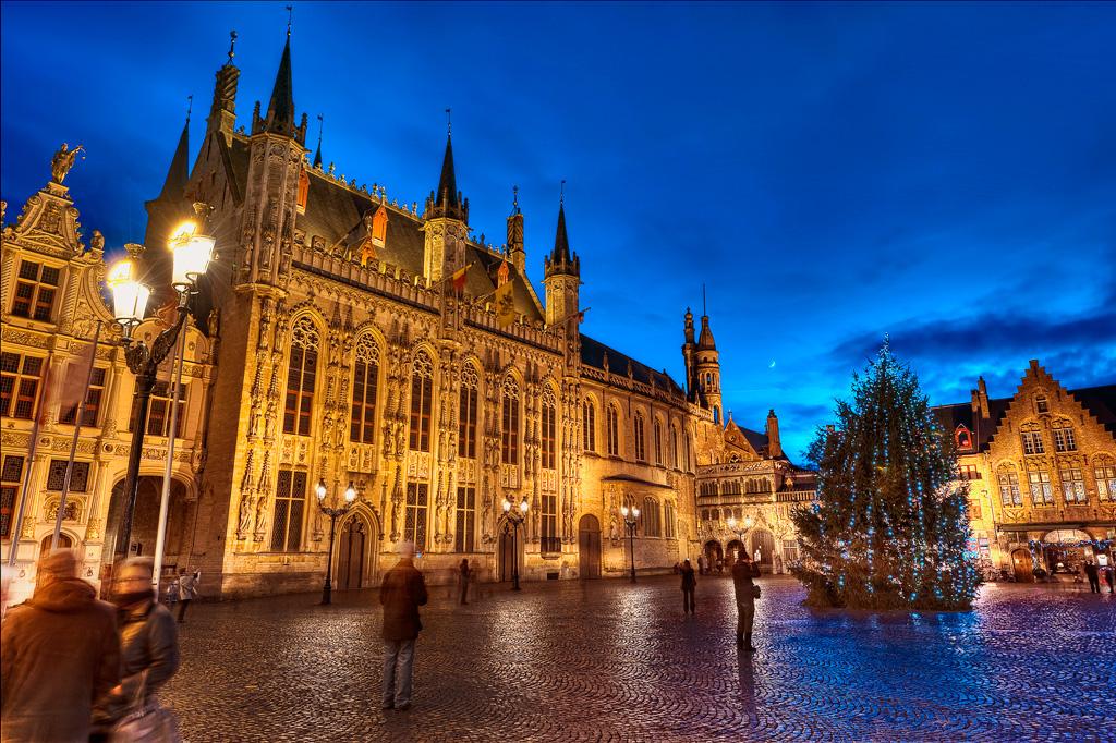 Рождественские праздники в Брюгге
