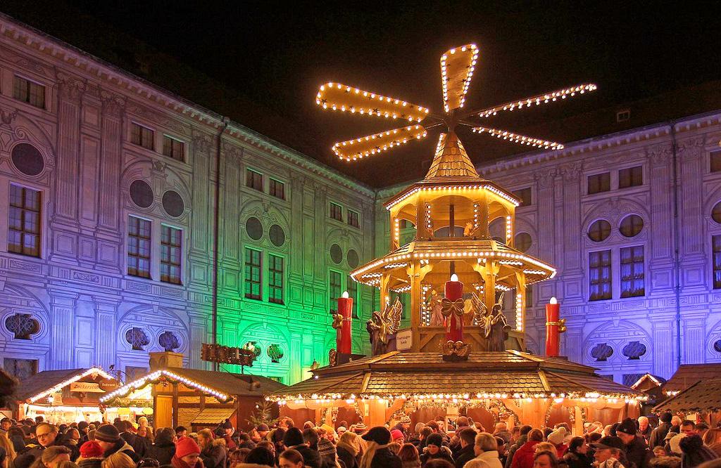 Рождественский базар в Мюнхене