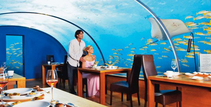 Мальдивы (у острова Рангали) – отель Conrad Maldives Rangali