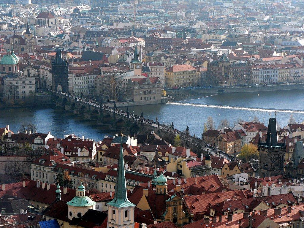 Прага. Карлов мост.