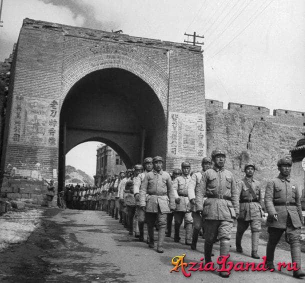 битвы на китайской стене