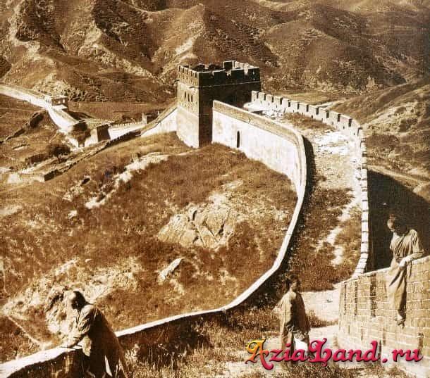 старые фото великой китайской стены