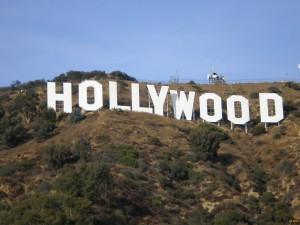 Всемирно известная надпись Голливуд