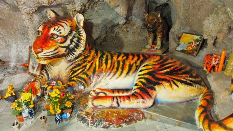 Храм Тигра – одно из самых интересных мест в Краби!