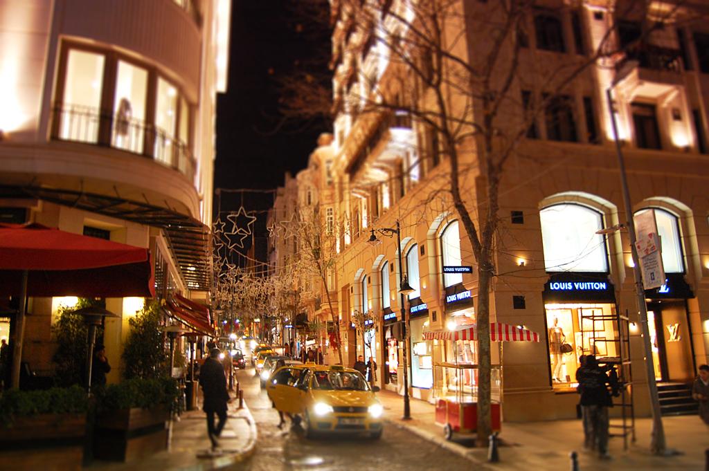Район Нишанташы в Стамбуле
