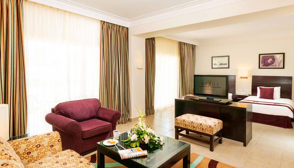 Junior suite, Hotel Rixos Sharm El Sheikh