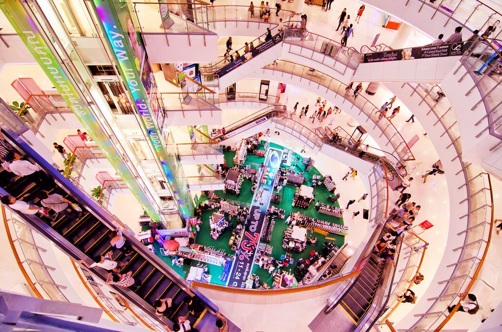 Торговый центр, Бангкок