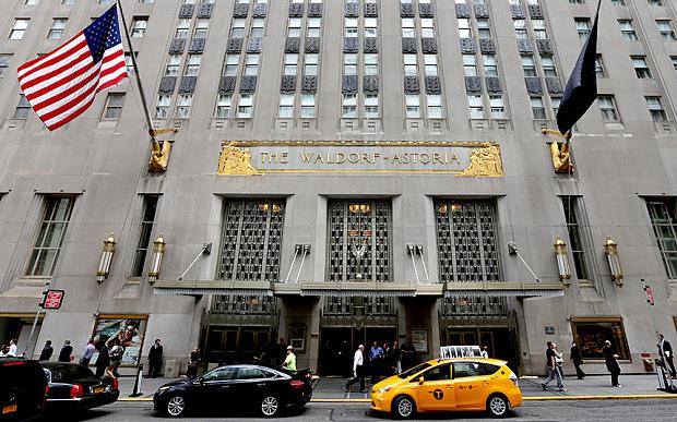 Waldorf Astoria, Нью-Йорк