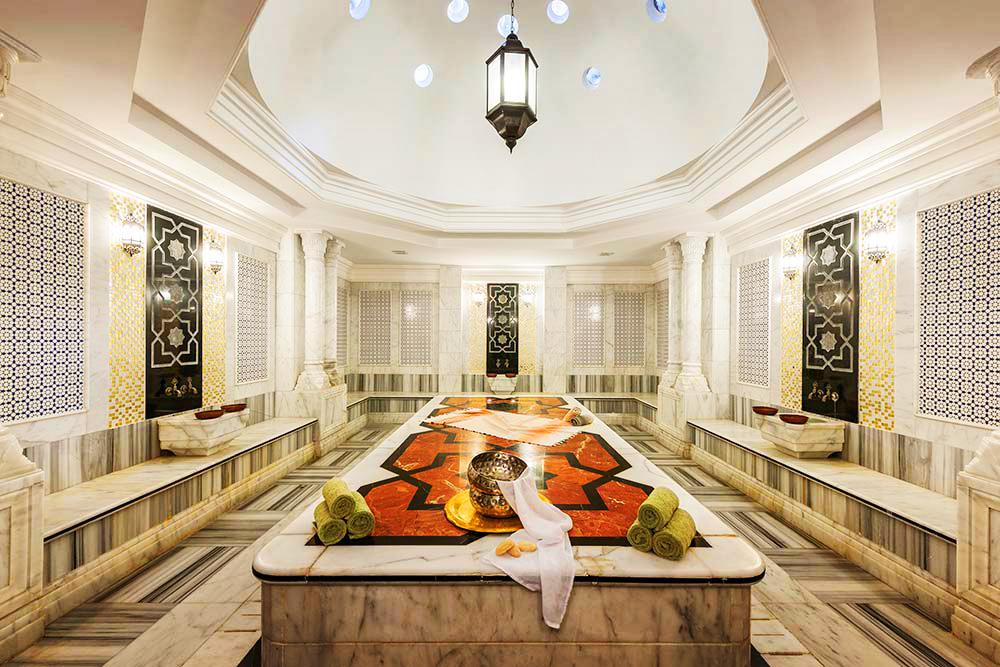 Хамам, Rixos Royal Spa, Rixos Sharm El Sheikh