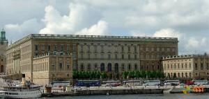 Королевский дворец в Стокгольме. Фото 1