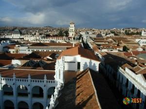 Улочки Сукре - столицы Боливии