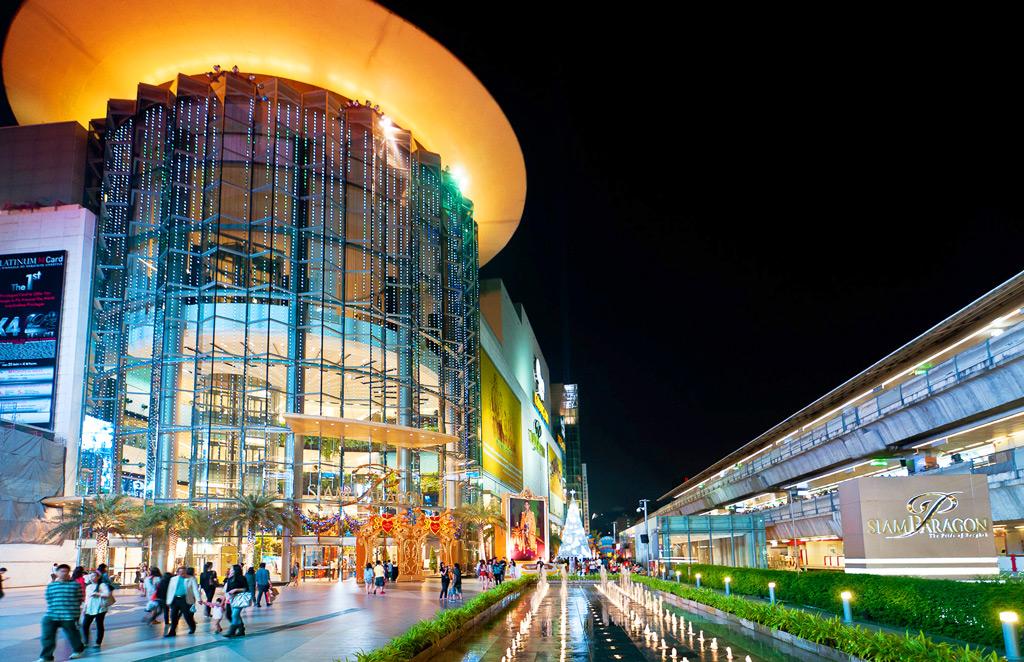 Торговый центр Siam Paragon Bangkok идеальное место для шоппинга