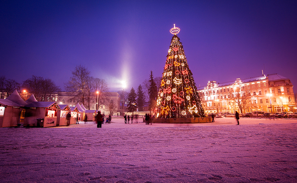 Православное Рождество в Вильнюсе