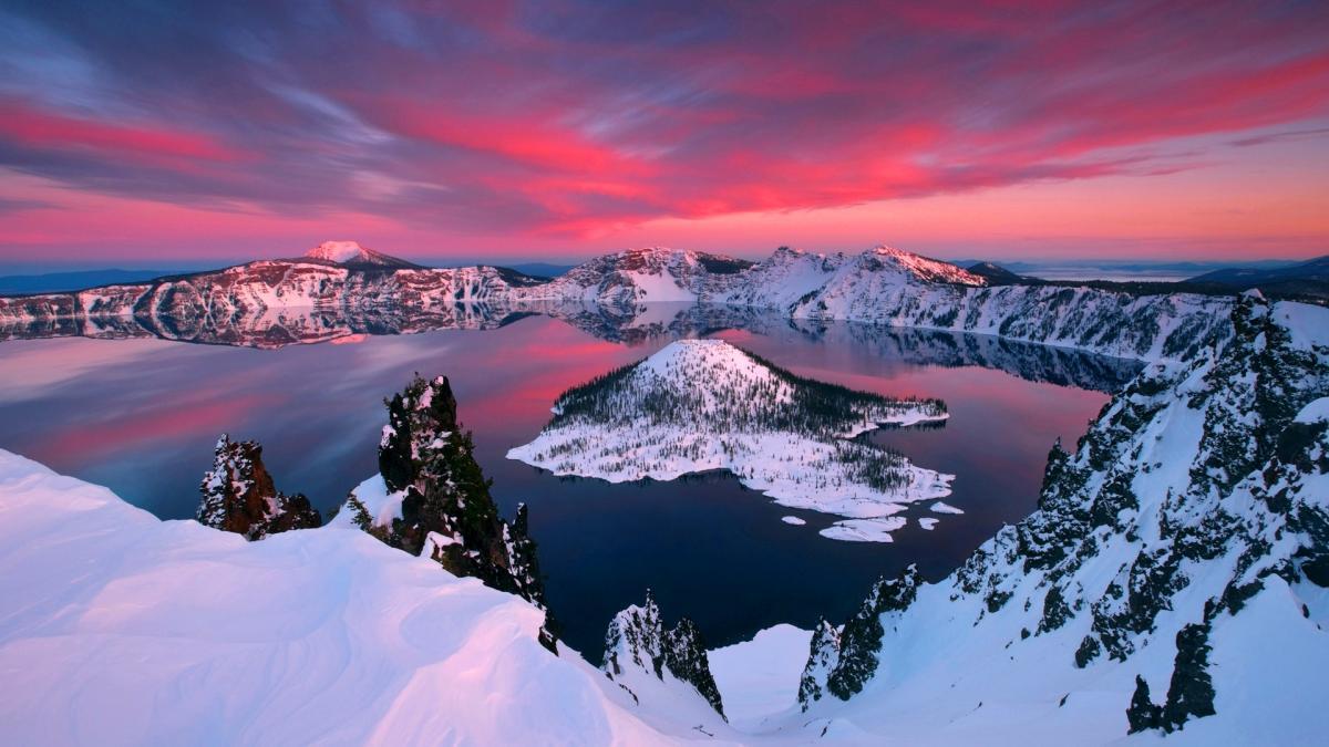 Озеро Крейтер - Crater Lake