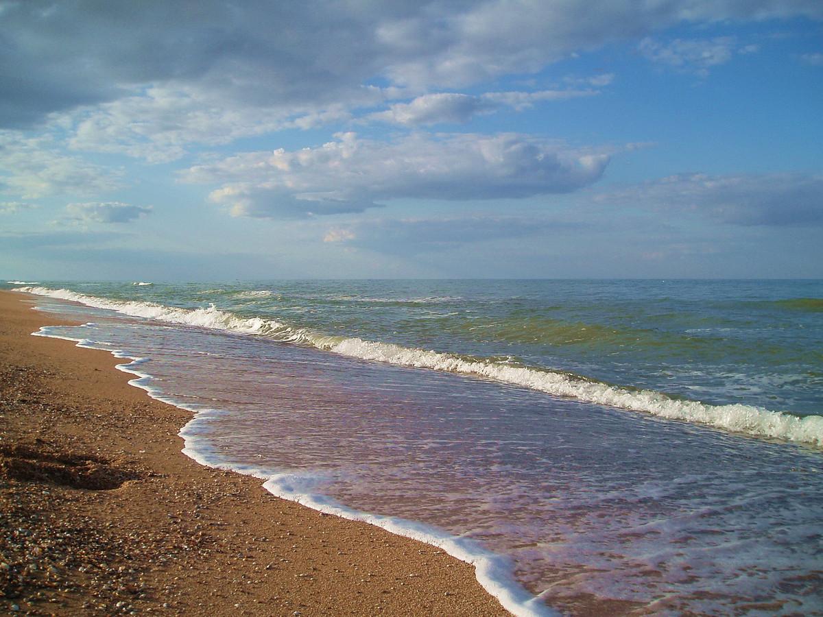 Арабатская стрелка - отдых на Азовском море в Украине
