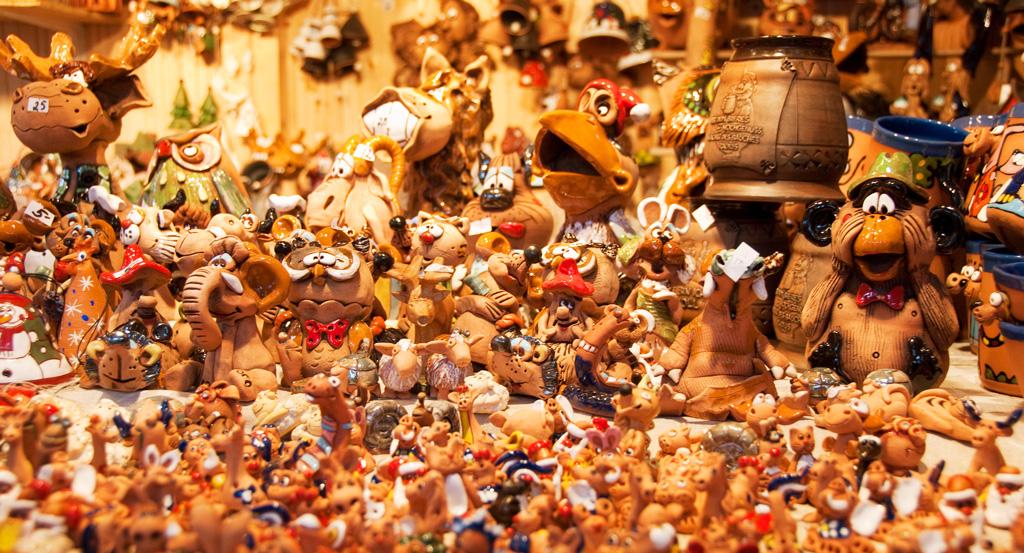 Сувениры на рождественской ярмарке, Мюнхен
