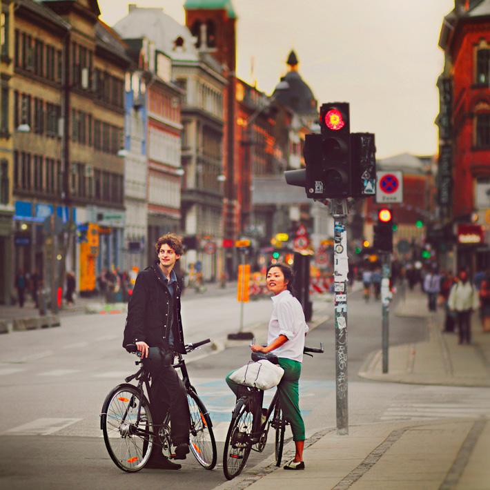 Прогулка по Копенгагену на велосипеде