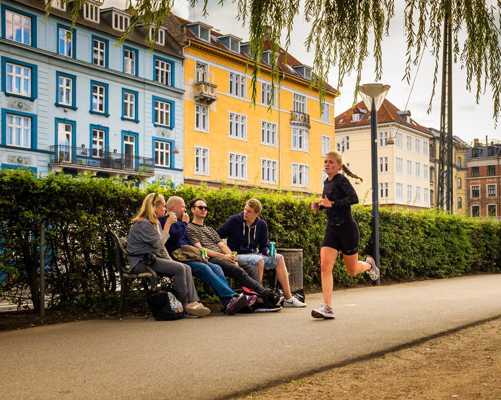 Бегуны в Копенгагене