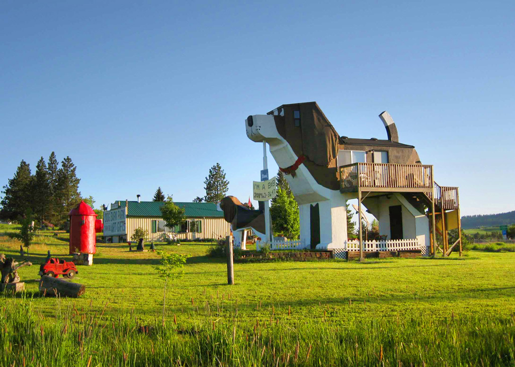 Dog Bark Park Inn в США (Айдахо)