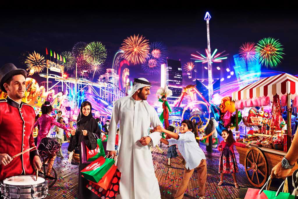 Торговый фестиваль в Дубае 2015