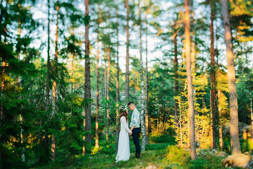 Свадьба в Финляндии