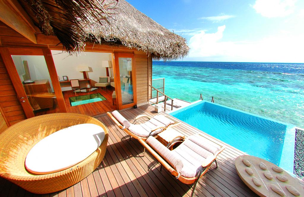 Huvafen Fushi на Мальдивах