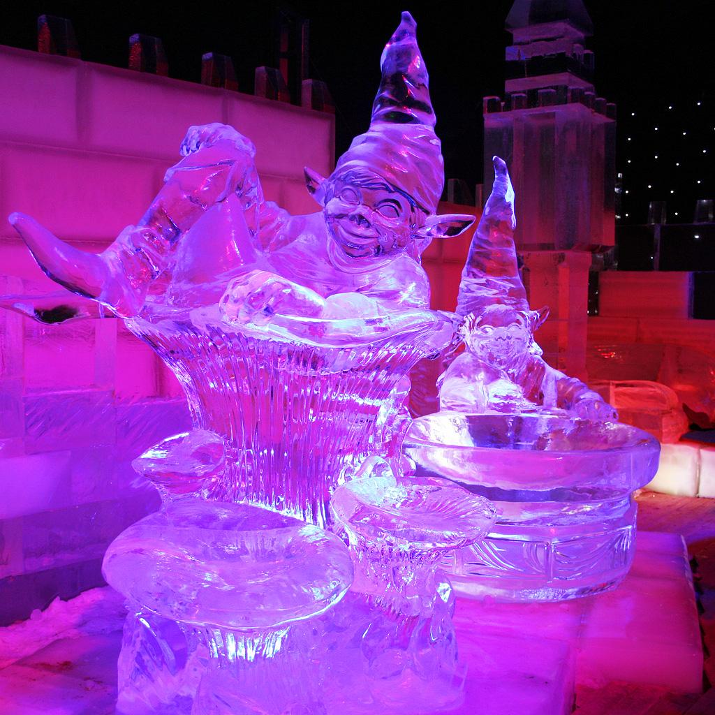 Фестиваль ледяных скульптур, Брюгге