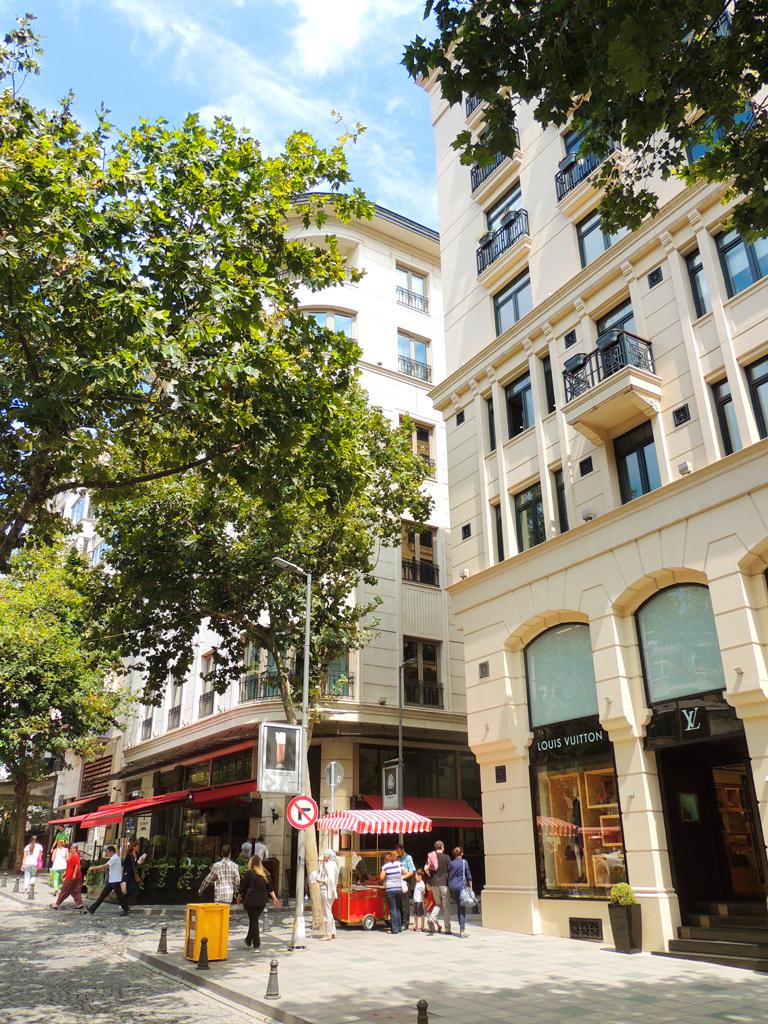 Район Нишанташи - элитный шоппинг в Стамбуле