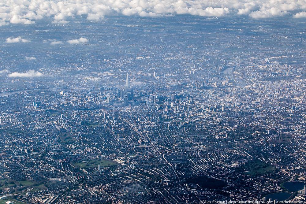 Пролетая над Олимпийским Лондоном