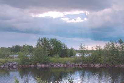 река Кемь