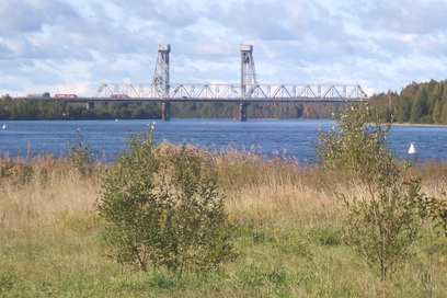 река Свирь.