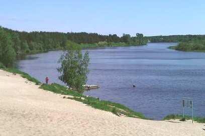 река Сясь.
