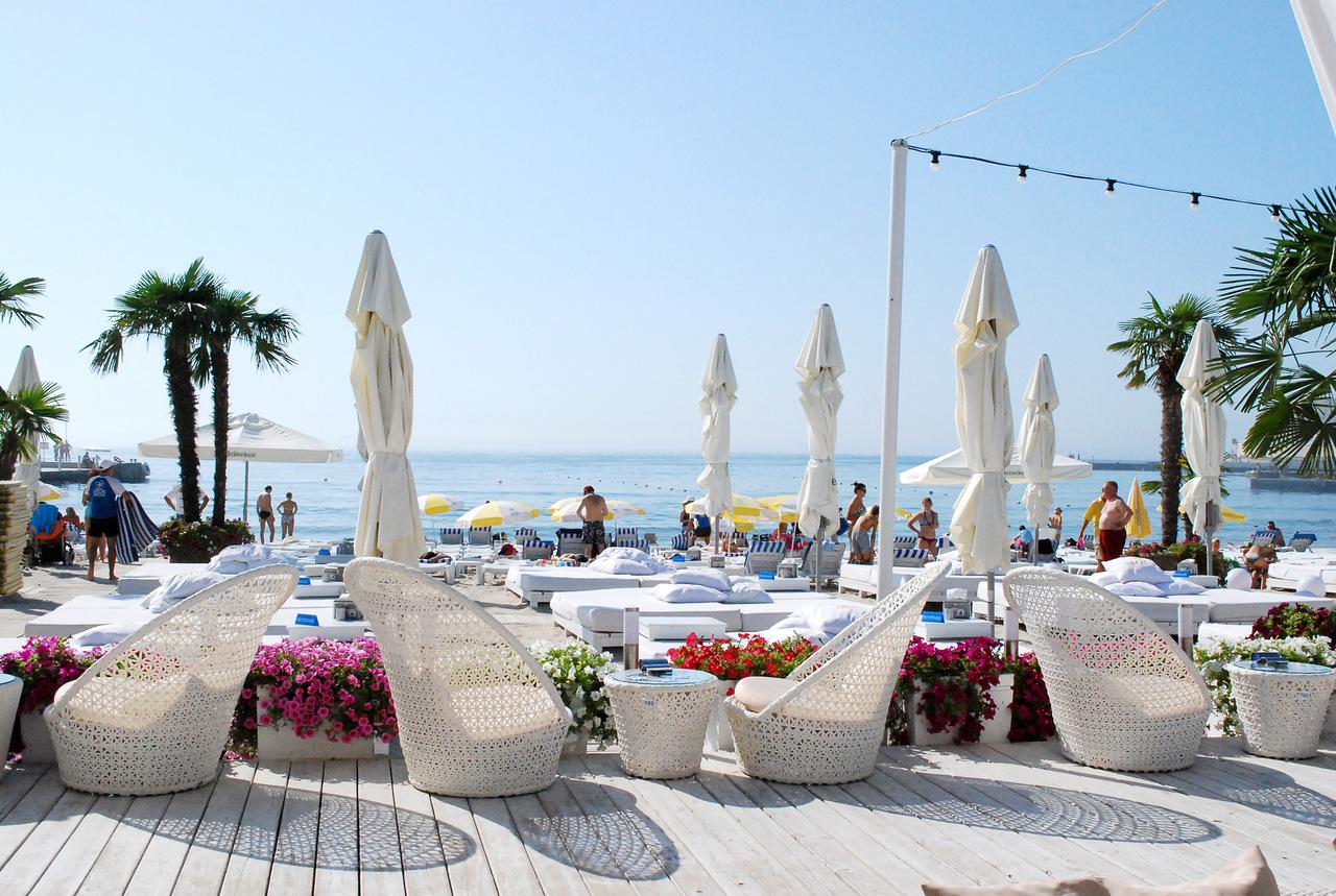Пляжи в Одессе: Ривьера