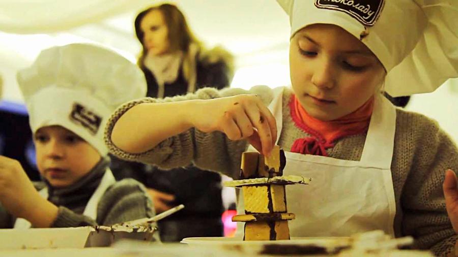 Развлечения на фестивале шоколада во Львове