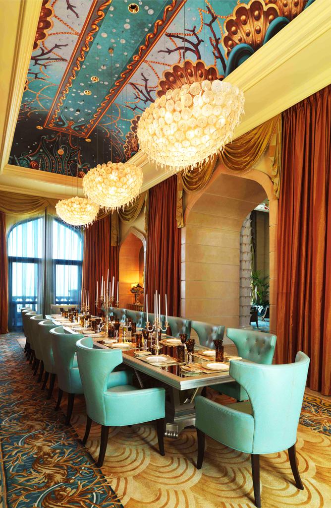 Отель Atlantis The Palm, Royal Bridge Suite