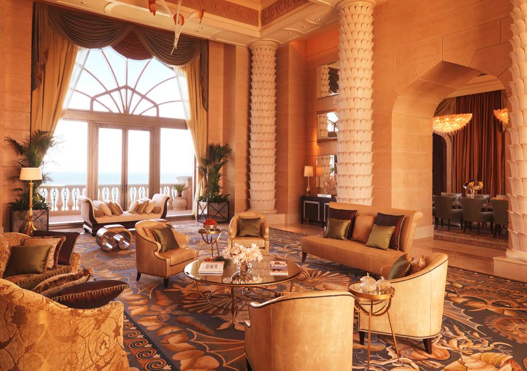 Royal Bridge Suite в отеле Atlantis The Palm