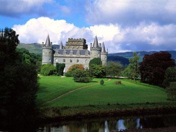 Шотландия - Замок Инверари
