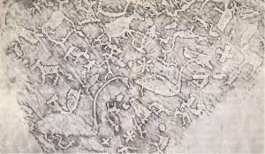 Петроглифы Бесовы следки