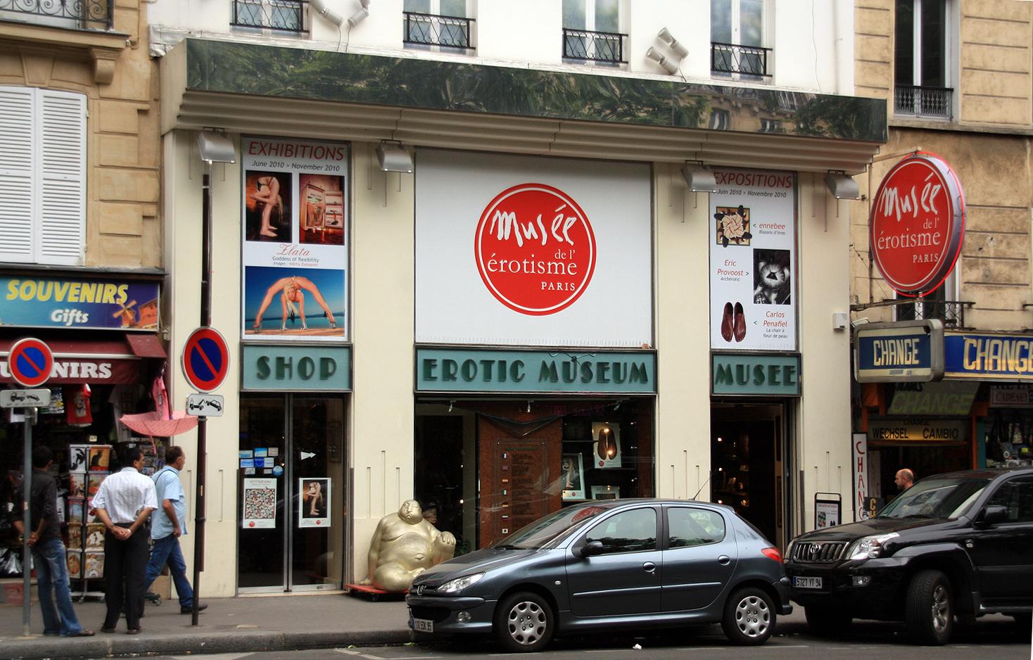 Музей Эротизма в Париже
