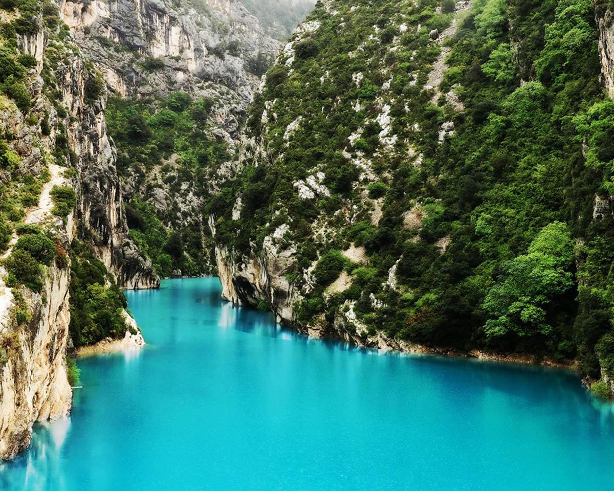 Самые красивые места мира — Вердонское ущелье