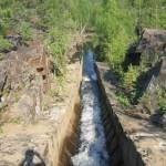 Гирвасский разрез каньона р. Суны