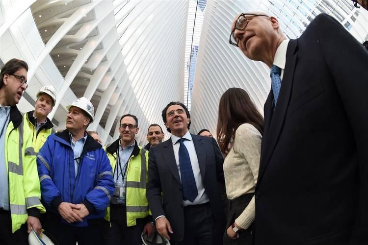 Открытие вокзала Oculus в Нью-Йорке