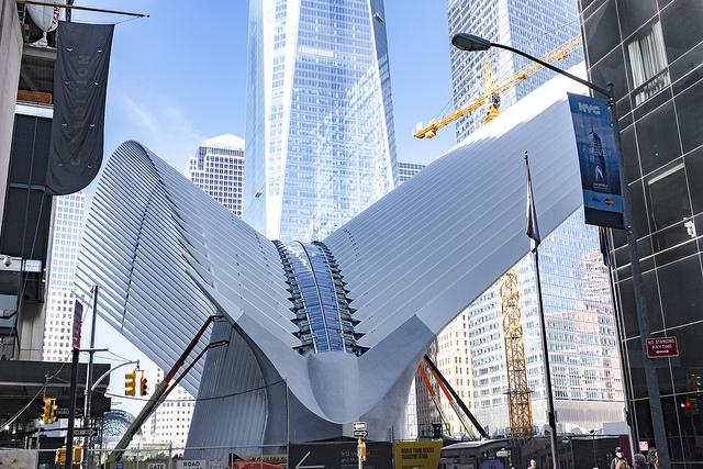 Архитектура вокзала Oculus, Нью-Йорк