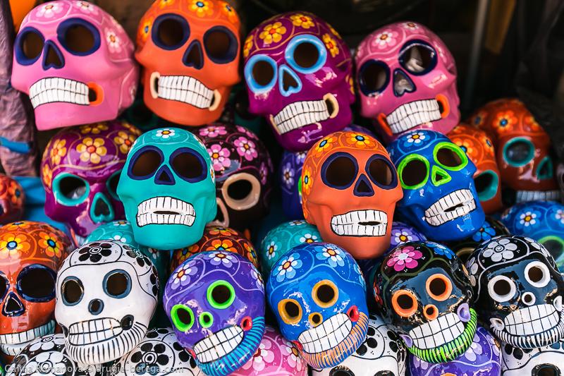 Черепа - Праздник смерти в Мексике