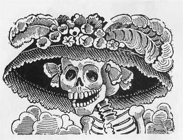 La Calavera de la Catrina - Череп богатой женщины
